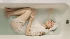 Incredibly Beautiful Dreamlike Portrait Photography by Laura Zalenga #inspiration #photography