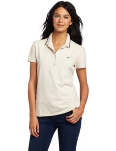 Fred Perry Women's Relaxed Fit Twin Tipped Shirt, « Impulse Clothes