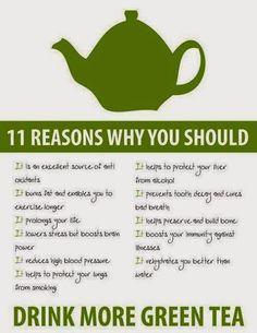 Why drink more green tea  #tea #teamood #teafun #teatime #teabenefits #vegandrink #healthydrink #teaparty #teapins #green tea