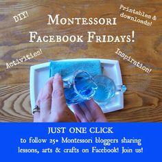 Montessori Facebook Fridays