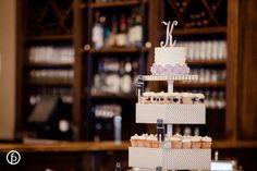 Buttercream wedding cupcakes.  Photography | www.Freelandphotography.com Classic Cakes | www.kcclassiccakes.com