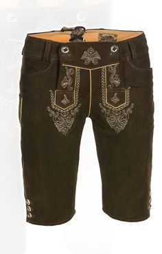 Trachten Short LEDERHOSEN Outfit Jessy rustic