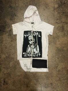 Bradley Soileau x 424 Fairfax / hoodie - front detail with Suicidal Tendencies graphic That Look, Hoodies, Detail, Gallery, My Style, Clothing, T Shirt, Men, Fashion