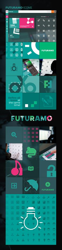FUTURAMO ICONS – a perfect tool for designers & developers. Unique style matrix from light to bold, from square to round. Powerful instant search, tools for size, color, style, swatches... and it is always growing! Register and you'll get 150 free user interface icons in 16 styles! (yes, that's almost 2500 free icons!) Check it out on futuramo.com :)