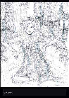 Wendy Darling by bombxbomb on tumblr Wendy Peter Pan, Peter Pan Ouat, Robbie Kay Peter Pan, Tumblr Drawings, Cool Art Drawings, Arte Disney, Raining Men, Disney Marvel, Neverland