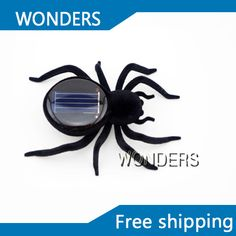 Solar power Spider Toy, Educational Funny and Creative Solar Insect Toy for children