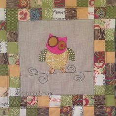 Little mini quilt made by @Mary Menzer on her BERNINA