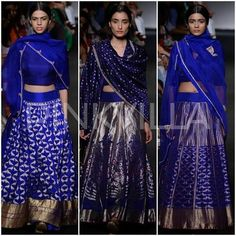 Ahh.. the color!!! Sanjay Garg collection at Lakme Fashion Week Winter/ Festive 2014 | PINKVILLA