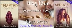Bookworm Bettie's: Blog Tour Reviews & Giveaway ~ Playing the Edge Se...