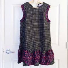 Hp Mixed Print Drop Waistdress