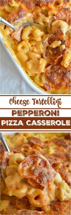 If you love macaroni & cheese and pepperoni pizza you will flip for this…