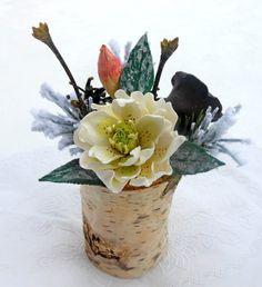 Christmas gift floristic arrangement handmade от TenderDreams
