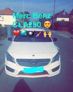 My bro's brand new Mercedes Benz CLA 250!!  #cars #car #ride #drive #TagsForLikes #driver #sportscar #vehicle #vehicles #street #road #freeway #highway #sportscars #exotic #exoticcar #exoticcars #speed #tire #tires #spoiler #muffler #race #racing #wheel #wheels #rim #rims #engine #horsepower by princess_sylxx