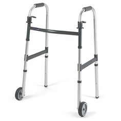 5″ Fixed Wheels Description The Invacare Adult Paddle Release Walker with 5″ Fixed Wheels features a wide, deep frame with a large number of height adjustments and a composite lower side brace for added stability. This walker is light and … Continue reading →
