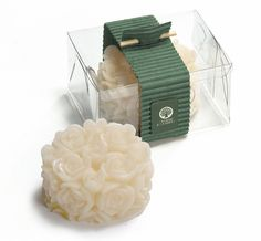 Sabonete em formato de conjunto de mini rosas