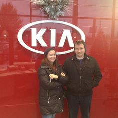 Thanks Nate and Laura for coming down from Kansas City to buy your 2015 Toyota Corrola from Ryan at Lawrence Kia!