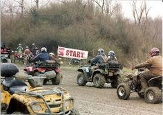 Ride a full circuit at Rumble on the Ridge. That is, once I learn how to ride a four-wheeler.
