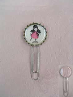 Gorjuss Girl bookmark for a friend's birthday, because she loves Santoro products. :)