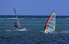 Enjoy windsurfing in Boracay Island, Philippines. Stay at Boracay Mandarin Island Hotel!