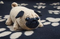Ravelry: Jolly The Pug pattern by Louise Walker