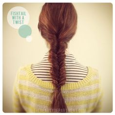 A new twist on the classic fishtail! xo