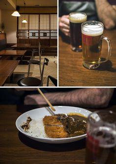 One of a handful of restaurants open at night in Kinosaki Onsen, Japan - Gubigabu | heneedsfood.com