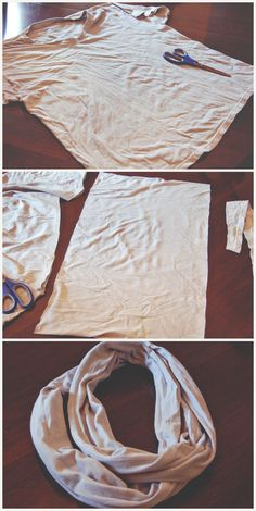 Life Of Charmings: Makey Thursdays! Watermark T-shirt Dying & Infinity Scarf Making