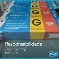 A EMS possui uma política rígida de reciclagem de materiais e tratamento de efluentes. #conheçaaEMS
