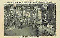 Northampton Massachusetts MA 1930s Hotel Northampton Wiggins Old Tavern Postcard