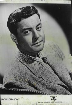 Jackie Gleason  1952 Vintage Hollywood, Classic Hollywood, Jackie Gleason, Make Em Laugh, Drive In Theater, That's Entertainment, Silent Film, Vintage Comics, Classic Tv