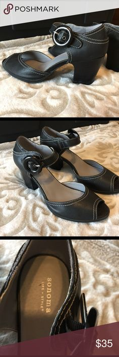 Kohl's sandals. SONOMA Goods For Life Block Heel Sandals. Very comfortable. Lightly used. In very good condition. kohl Shoes Sandals