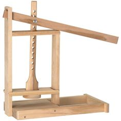 Made from solid hard wood this press is well balanced and easy to use. This cheese press is proudly made in the USA and built to last a lifetime. Shop now.