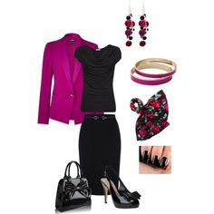 Dramatic Classic - Winter by sm137 on Polyvore