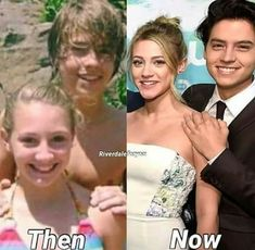 Is this photoshopped, or did they genuinely know each other before Riverdale? Seriously, if someone knows, please tell me - I think it's just a random girl cole knew, but I hopeeeee it's lili! Riverdale Netflix, Bughead Riverdale, Riverdale Funny, Riverdale Memes, Riverdale Movie, Archie Comics, Zack Et Cody, Riverdale Betty And Jughead, Riverdale Aesthetic