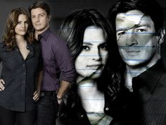 ABC's Castle, Kate and Rick, Stana Katic, Nathan Fillion, Kate Beckett, Rick Castle