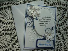 Sympathy Card homemade sympathy card by CardsbyEileen on Etsy