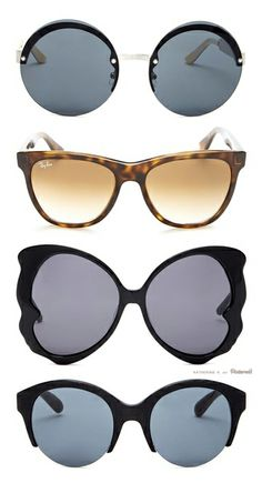 Cute Sunnies! Make a statement with a unique pair of shades