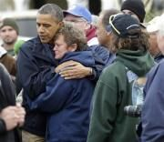 Commander-In-Chief: Obama Calms The Storm In Sandy's Wake