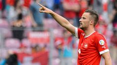 Haris Seferovic Soccer Pictures, European Championships, World Cup, Baseball Cards, Sports, Football Soccer, Swiss Guard, Hs Sports, World Cup Fixtures