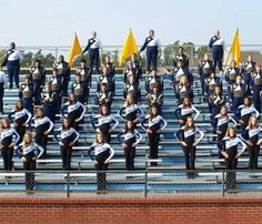 Bay High Marching Band in Bay St. Louis, MS. Awarded 2009