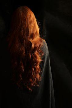 Amei a cor do cabelo dela por isso salvei na pasta de estilo