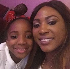 Photos Of Julius Agwu's Wife And Daughter
