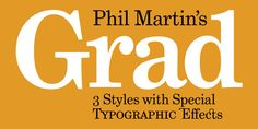 Grad - Desktop font « MyFonts
