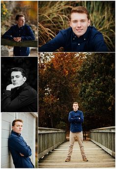 Leesylvania State Park was a great location for this young man's senior pictures. That blue shirt just makes his eyes pop!