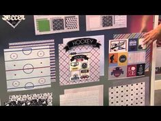 Sports Collections by Scrapbook Customs Video