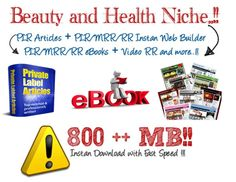 nollypam9945: give 800 Mb value packed beauty and health plr or mrr ebooks,videos and articles for $5, on fiverr.com