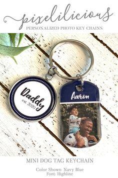 dad est 2016 new dad gift Cuff links Custom Quote Color Christams gift for dad Gift for Dad Cuff links Dad established