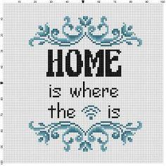 Thuis is waar de wifi is Goede Housewarming cadeau! Ironisch Inwijdingsfeest geschenk voor de amish persoon in uw leven. Moderne cross stitch patroon is ontworpen op 14 count Aida. Het zal lopen ongeveer 5 x 7 en ziet er geweldig in een 8 x 10-frame met een matte of een frame 5 x 7. Dit patroon zal komen met 2 verschillende formaat full-colour patronen, voor het gemak van afdrukken of bekijken, en een handige kleine tips en trucs afdruk om u te helpen in uw zoektocht naar cross stitching…