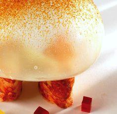 Bogavante asado con globo de especias de Pedro Subijana  | Gastronomía & Cía