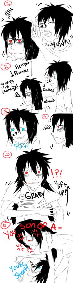 laughing jack x jeff the killer - Google Search